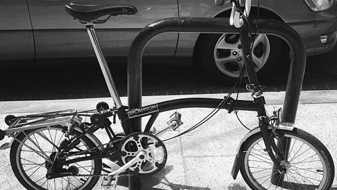 ミニベロ・フォールディングバイク(折り畳み自転車)の施錠