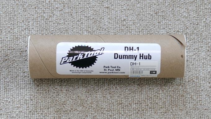 PARK TOOL製『DH-1』ダミーハブのパッケージ