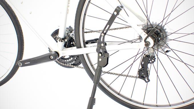 cycledesign ロングクランプ アジャスタブルキックスタンド 取り付け図