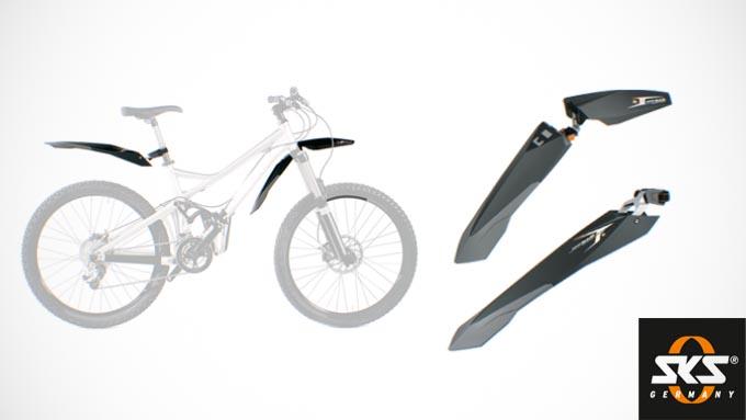 SKS製4インチファットバイク用フェンダー