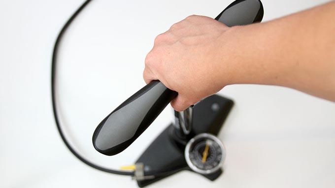 ファットバイク用タイヤの空気圧イメージ01