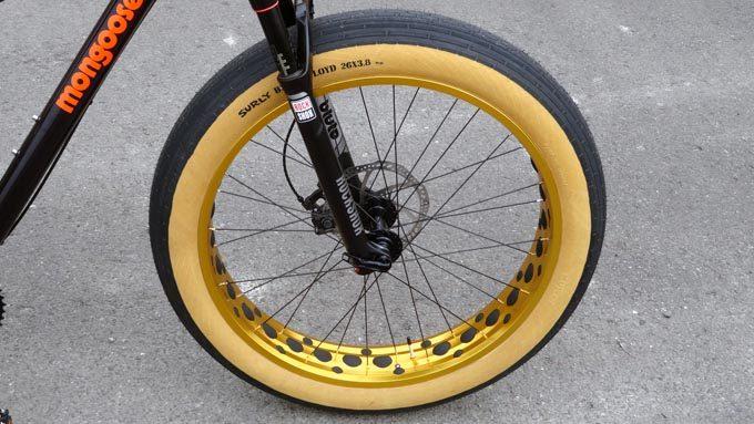 ファットバイク用スリックタイヤ『SURLY BLACK FLOYD(サーリーブラックフロイド)』イメージ01