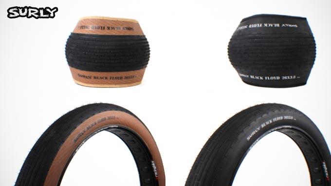 ファットバイク用スリックタイヤ『SURLY BLACK FLOYD(サーリーブラックフロイド)』イメージ03