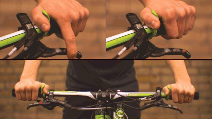 """フラットハンドルバーの自転車にオススメ""""TOGS/トグス""""イメージ03"""