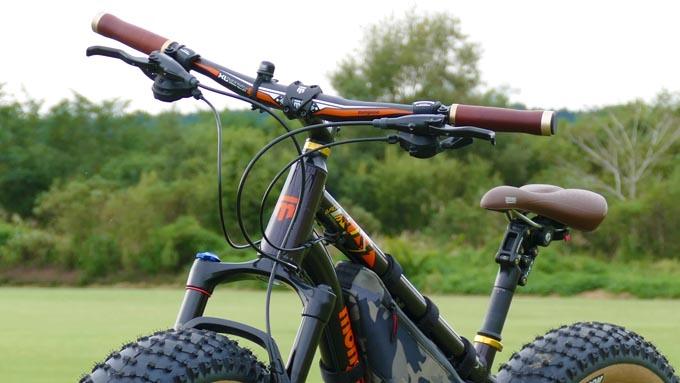 『ファットバイクをカーボンハンドルに交換&MOTOREXカーボンペーストの感想』イメージ02