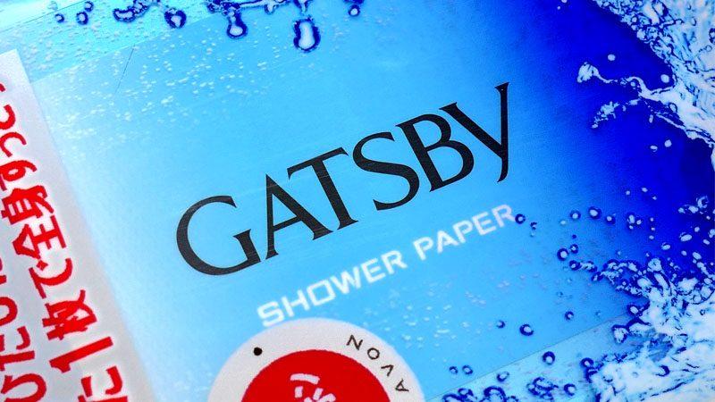 『GATSBY/ギャツビー シャワーペーパー』イメージ01