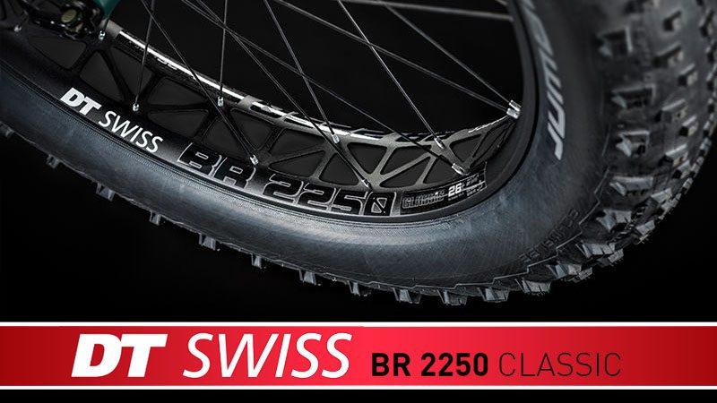 """DT Swiss製ファットバイク用軽量ホイール""""BR 2250 CLASSIC""""イメージ01"""