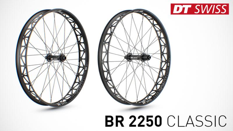 """DT Swiss製ファットバイク用軽量ホイール""""BR 2250 CLASSIC""""イメージ02"""