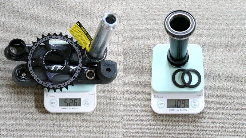 ファットバイクのフロントシングル化『カーボンクランク&BBへの交換』イメージ05