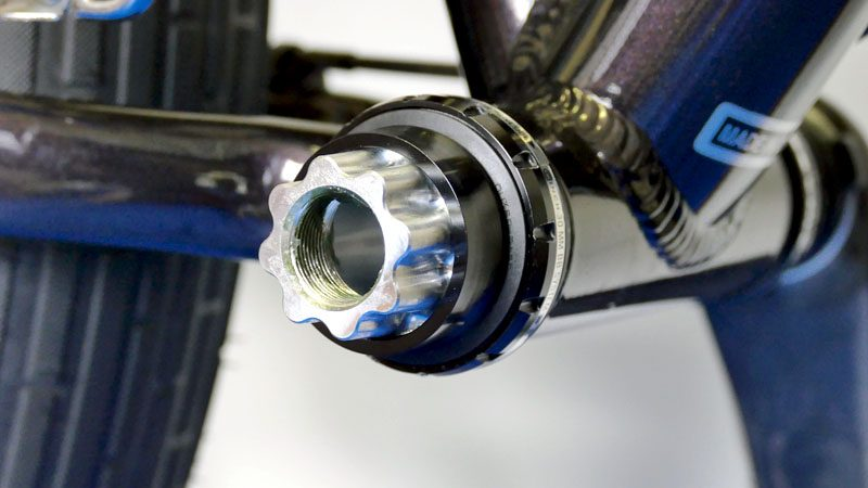 ファットバイクのフロントシングル化『カーボンクランク&BBへの交換』イメージ14