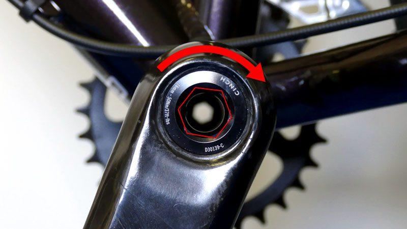 ファットバイクのフロントシングル化『カーボンクランク&BBへの交換』イメージ17