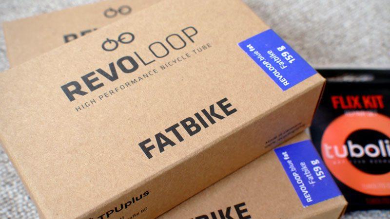 超軽量ファとバイク用TPUチューブ『Revoloop.Blue Fat.』の感想イメージ01