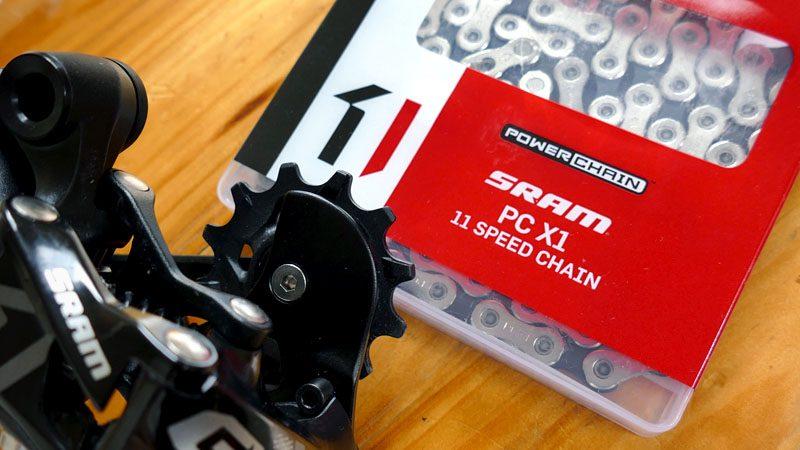 『ファットバイク11速化でコンポをSRAM GXに交換』イメージ01