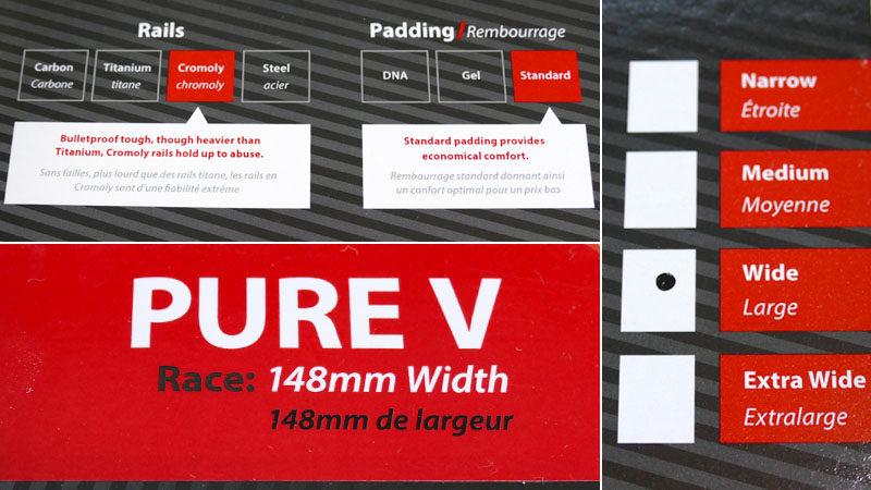 マウンテンバイク・ファットバイク用の定番サドルWTB『PURE V RACE』イメージ04
