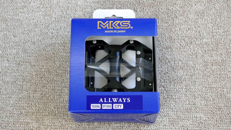 回転が軽い万能ペダル『MKS ALLWAYS』の感想イメージ02