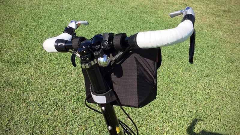 超オススメ!『POTA BIKE/ポタバイク』製フロントバッグの感想イメージ14