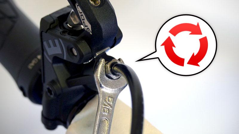 油圧ディスクブレーキ『MAGURA MT Trail Sport』の詳細と取付方法イメージ24