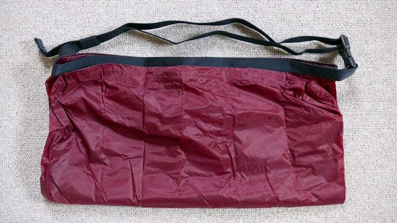 レジ袋の代用にオススメ!フェアウェザー製『パッカブルサコッシュ』イメージ09