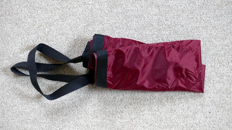 レジ袋の代用にオススメ!フェアウェザー製『パッカブルサコッシュ』イメージ10