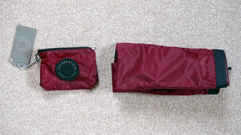 レジ袋の代用にオススメ!フェアウェザー製『パッカブルサコッシュ』イメージ11