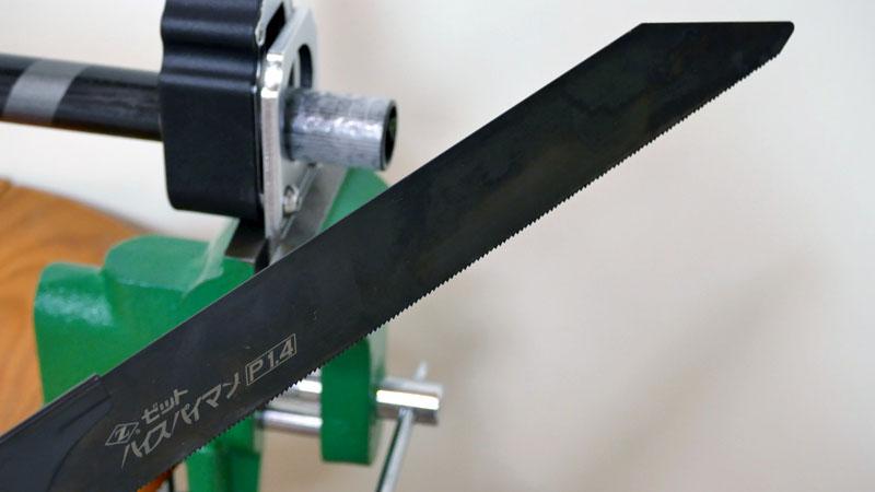カーボンハンドル&ハンドルコラムの切断方法と工具選びイメージ11