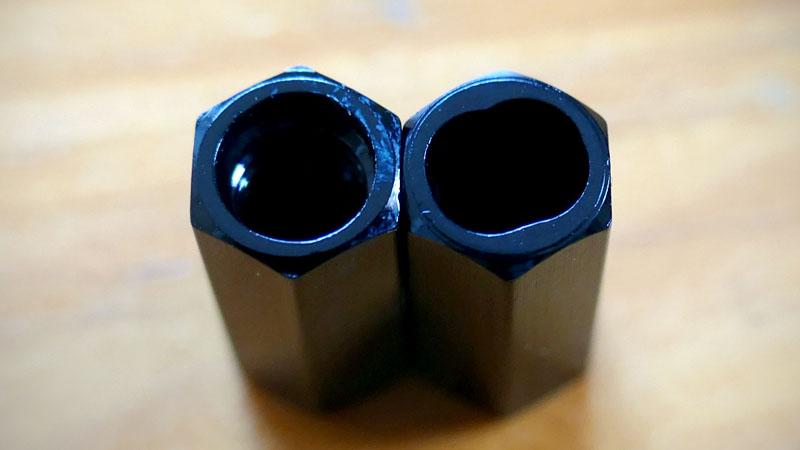 バルブキャップをパナレーサー製バルブコアツール付きに交換イメージ05