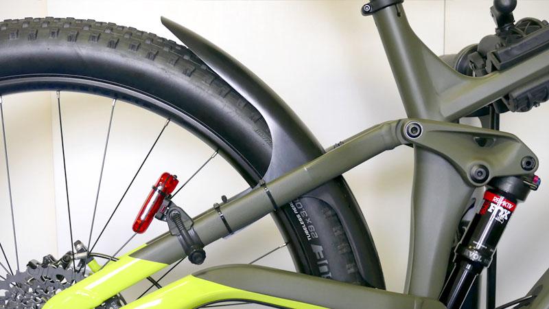 つや消し・マット塗装の自転車フレームに使える保護テープ2種類の比較テストイメージ10