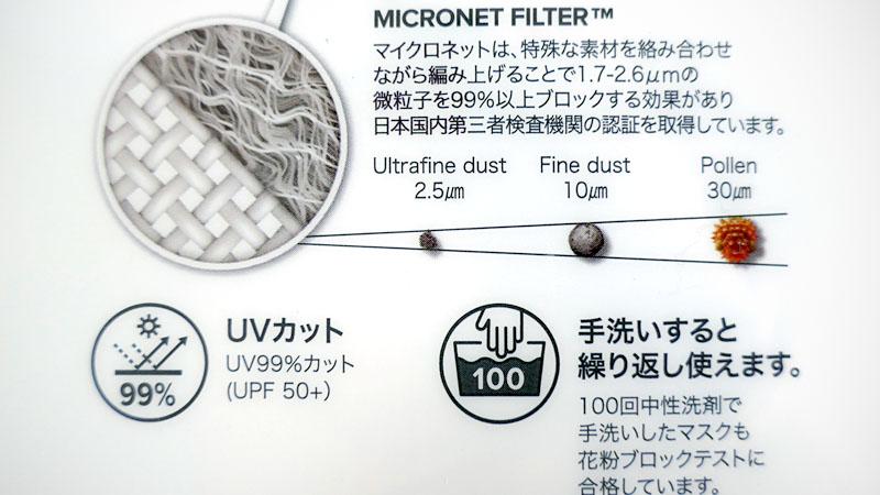 高機能フィルターマスク『NAROO MASK F.U+』の感想イメージ05