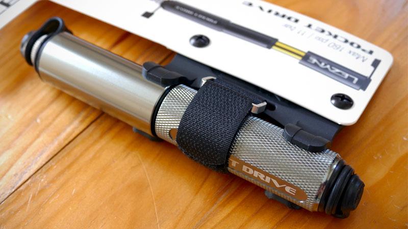 ホース付き携帯ポンプ『LEZYNE POCKET DRIVE/レザイン ポケットドライブ』の感想イメージ01