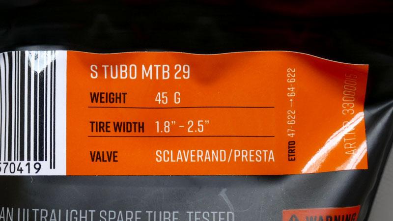 チューブレス向きな携帯&予備チューブ『Tubolito S-Tubo』イメージ03