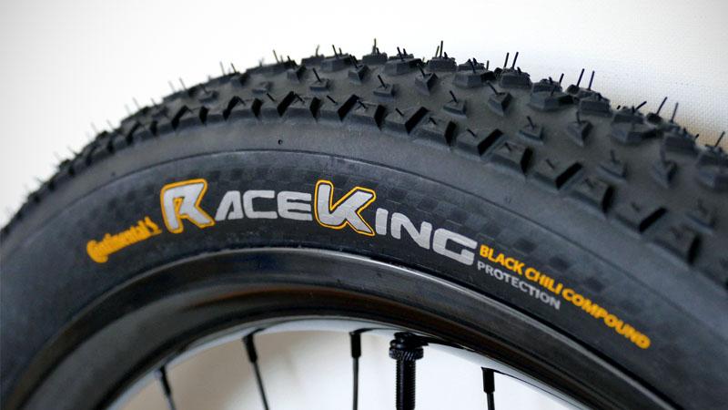 レビュー高評価のMTB用タイヤ『Continental RaceKing』の感想イメージ01