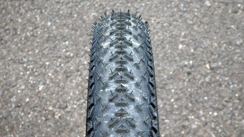 レビュー高評価のMTB用タイヤ『Continental RaceKing』の感想イメージ08