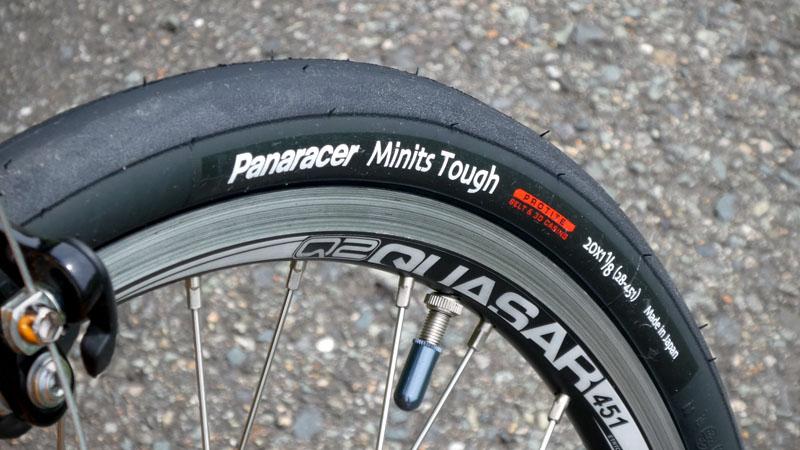 20インチ451ホイール用タイヤ『ミニッツタフ』の感想イメージ01