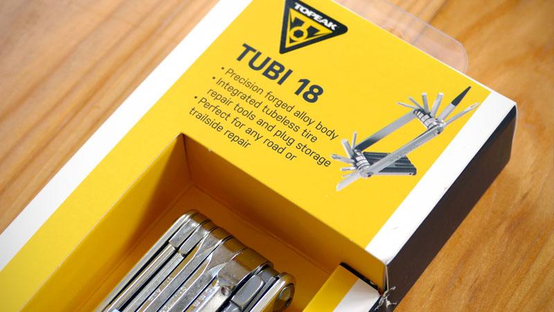 チューブレス特化の携帯工具、トピーク『Tube/チュビ 18』の感想イメージ01