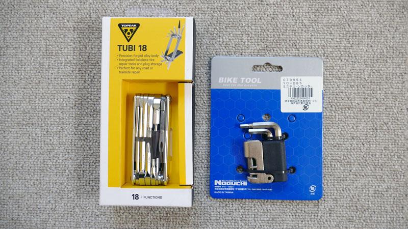 チューブレス特化の携帯工具、トピーク『Tube/チュビ 18』の感想イメージ03