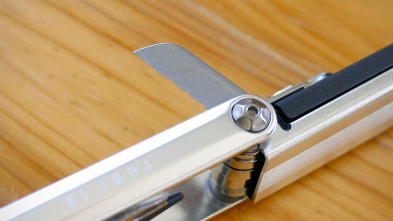チューブレス特化の携帯工具、トピーク『Tube/チュビ 18』の感想イメージ07