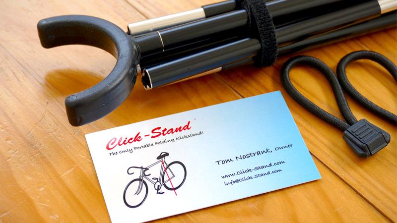 持ち運び可能な自転車用スタンド『Click-Stand/クリックスタンド』の感想イメージ01