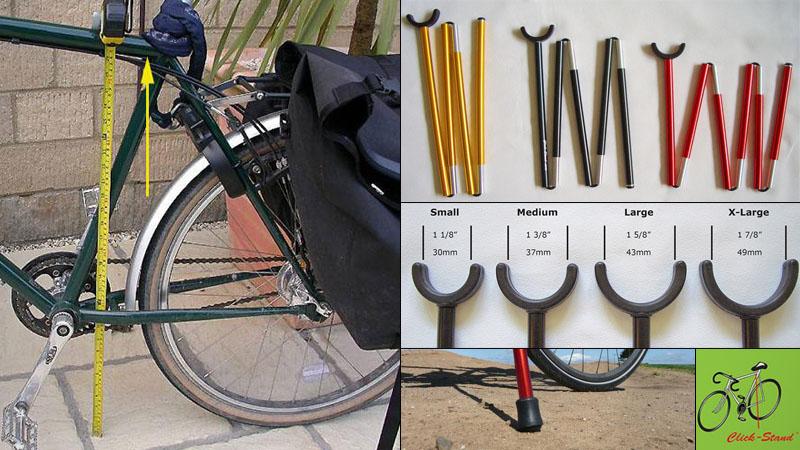 持ち運び可能な自転車用スタンド『Click-Stand/クリックスタンド』の感想イメージ03