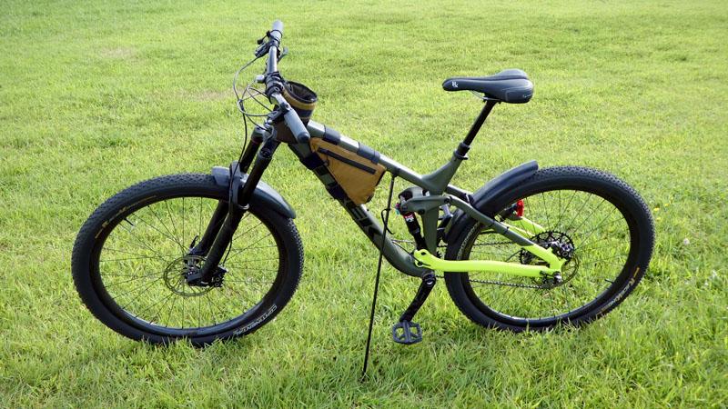 持ち運び可能な自転車用スタンド『Click-Stand/クリックスタンド』の感想イメージ11