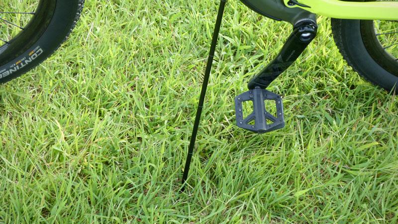 持ち運び可能な自転車用スタンド『Click-Stand/クリックスタンド』の感想イメージ14