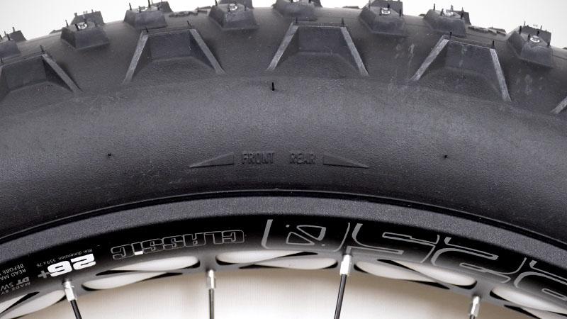 遂にスパイクタイヤ出陣!ファットバイクに『Dillinger4』を装備イメージ06