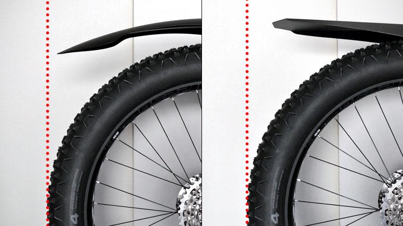 めざせ完全防御!ファットバイクの『泥除け』を強化&カスタマイズイメージ16
