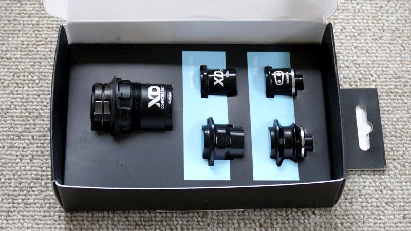 【クランクブラザーズ製ホイール】フリーハブボディをXDドライバーに交換する方法イメージ02