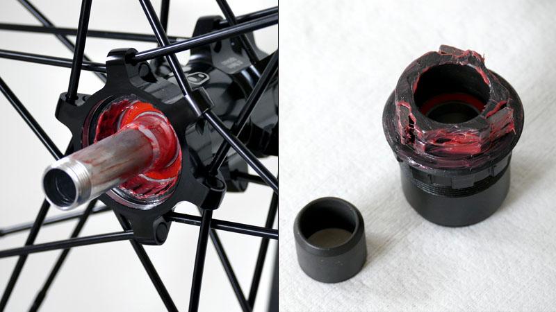 【クランクブラザーズ製ホイール】フリーハブボディをXDドライバーに交換する方法イメージ13