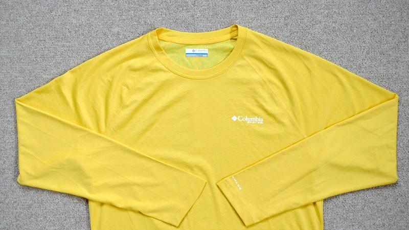 冷たい肌触りは本当か?夏の自転車用にCOOLな長袖Tシャツを試すイメージ04