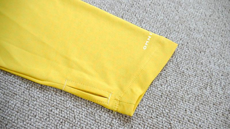 冷たい肌触りは本当か?夏の自転車用にCOOLな長袖Tシャツを試すイメージ017