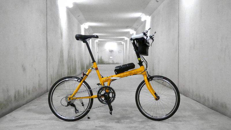 ガタつきは危険!折り畳み自転車の弱点『ヒンジ』の調整方法イメージ01
