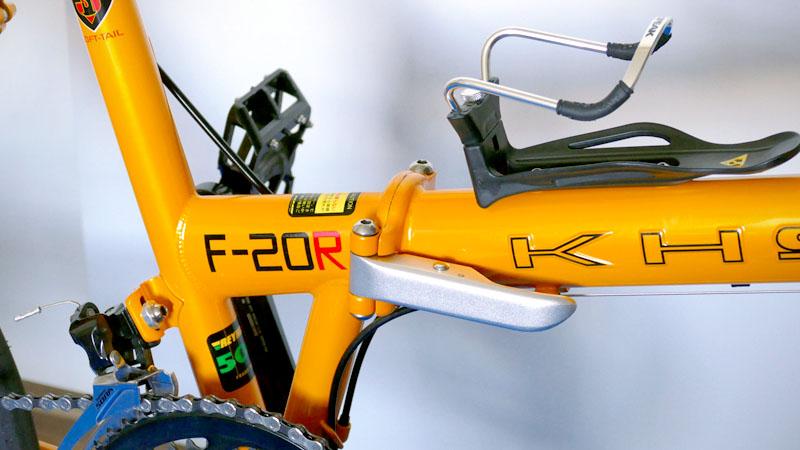 ガタつきは危険!折り畳み自転車の弱点『ヒンジ』の調整方法イメージ07