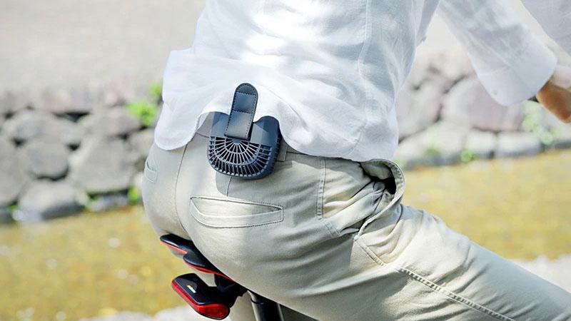 自転車も涼しくなる?『腰掛け扇風機/ベルトファン』の率直な感想イメージ15