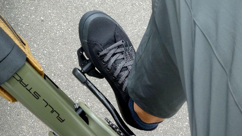 タイヤの技術が靴底に!自転車用シューズ『CHROME KURSK AW』の感想イメージ18